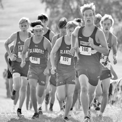 SWEDES RUNNERS BATTLE FOR POSITION