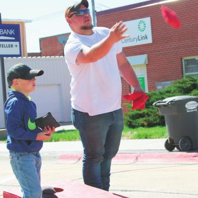 Families gather for Block Party
