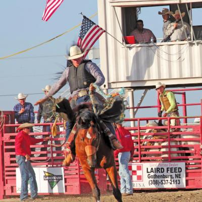 THE PONY EXPRESS RODEO