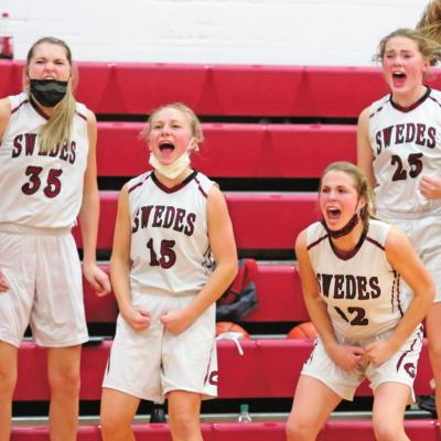 Lady Swedes Pull Off Big Win