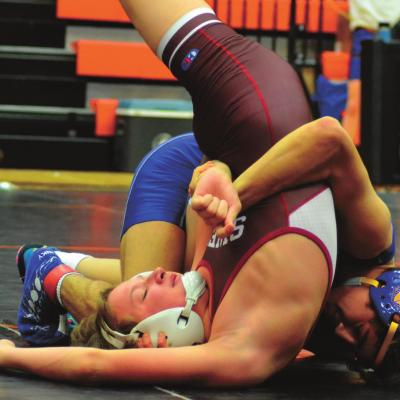 Eleven Swedes Punch Ticket to District Wrestling Tourney