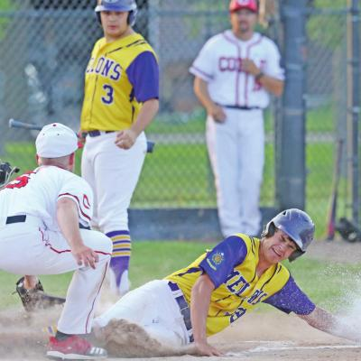 Melons Earn Split With Cozad