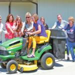 Lawn Mowing Just Got Easier At The Senior Center